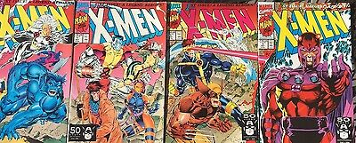 X-MEN lot of (5) #1 issues with different covers (1991) Marvel Comics FINE