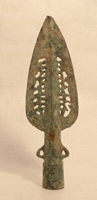 Warring States Bronze Spear Head