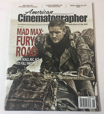 AMERICAN CINEMATOGRAPHER June 2015~ MAD MAX FURY ROAD,AVENGERS AGE OF ULTRON