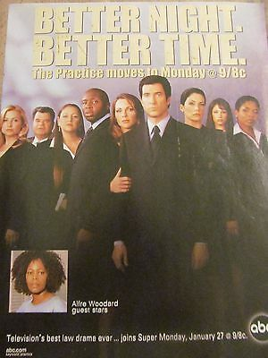 The Practice, Dylan McDermott, Full Page Promotional Ad
