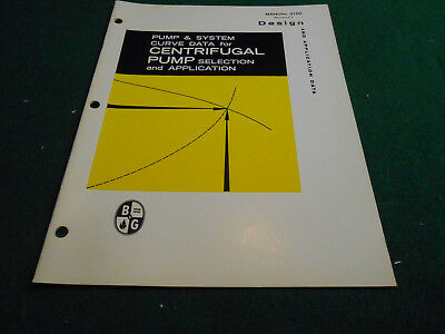 CENTRIFUGAL PUMP PUMP/SYSTEM CURVE DATA Engineering Design Manual HVAC BOOK