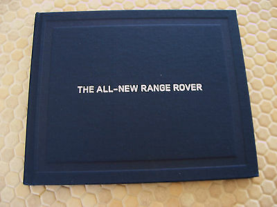 Land Rover Range Rover Hardback Press Dvd Book Brochure 2013 Usa Edition