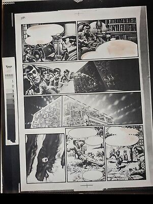 Vampirella #33 1974 Richard Corben TOP TO BOTTOM Publishers HAND INKED Stat pg 3