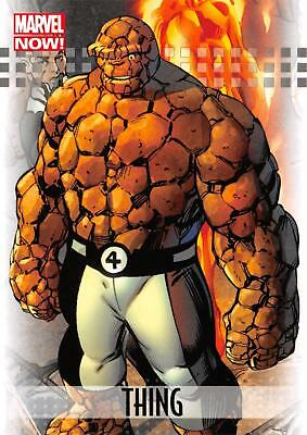 THING / 2013 Marvel Now! (Upper Deck 2014) BASE Trading Card #93