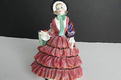 "Royal Doulton ""Bonjour"" HN1888 Bone China 1942 Figurine 7.25"". Signed! EX! RARE!"