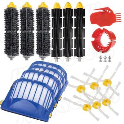 Replacement Part Brush Filter Kit for iRobot Roomba 500 600 700 800 900 Series g