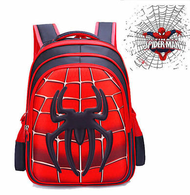 Spider-Man Homecoming School Bag Backpack Bag for Boys Kids Children Gift