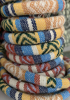 3m of Cotton Rope  Beige Cloth Ethnic Cord 6mm Jewellery Thread Thong - ET11