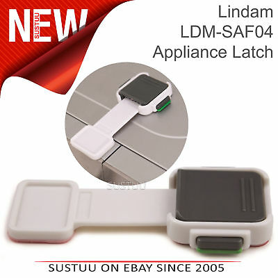 Lindam Xtra Guard Appliance Latch│Baby / Child Safety Dual Lock│Secures Freezers