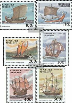 Togo 2948-2953 unmounted mint / never hinged 1999 Sailboats