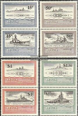 St. Vincent-Bequia 98-105 Couples (complete.issue.) unmounted mint / never hinge