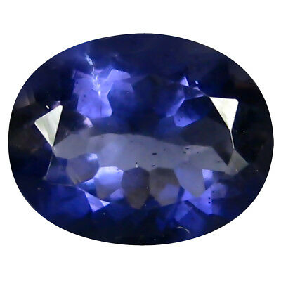 1.37 ct AAA Pretty Oval Shape (9 x 7 mm) Iolite Natural Loose Gemstone