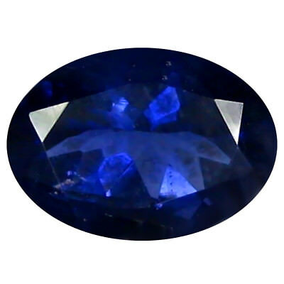 1.09 ct AAA Exquisite Oval Shape (8 x 6 mm) Iolite Natural Loose Gemstone