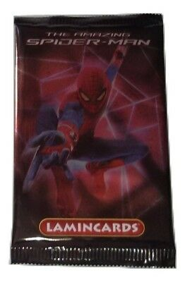 Amazing Spiderman Lamincards Lot 20 Packs Edibas