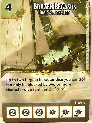 Dice Masters - 1x #137 Brazen Pegasus Basic Action Card PROMO - D&D Tomb of Anni