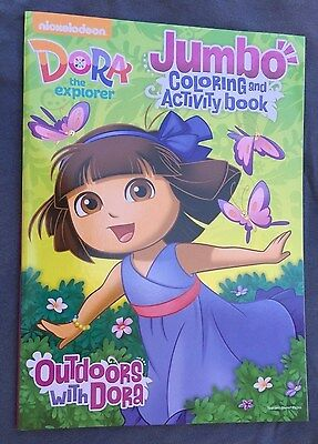 Dora The Explorer Coloring Activity Book Outdoors With New Free Shipping