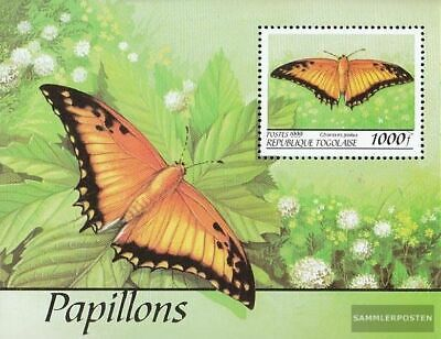 Togo Block442 unmounted mint / never hinged 1999 Butterflies out all World