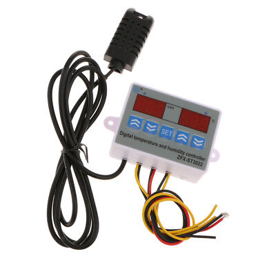 ZFX-ST3022 Digital Temperature Humidity Controller Thermostat 10A 12/24/220V