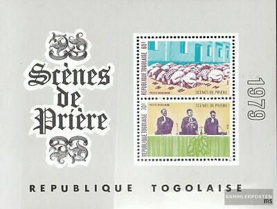 Togo block147 unmounted mint / never hinged 1979 Religion in Togo