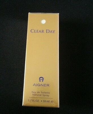 Aigner Clear Day, 50 ml, Eau de Toilette, originalverpackt