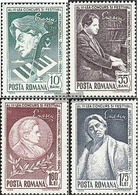 Romania 2326-2329 (complete.issue.) fine used / cancelled 1964 International. Mu