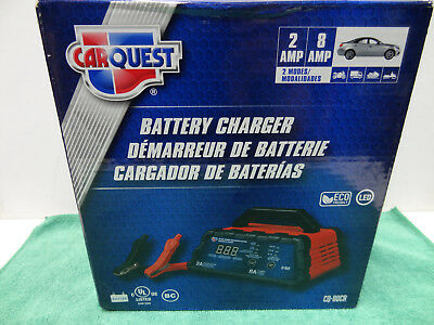 New Carquest Car Automotive Battery Charger Maintainer 2 8 Amp Cq