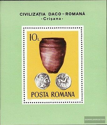 Romania block131 (complete issue) unmounted mint / never hinged 1976 Archaeologi