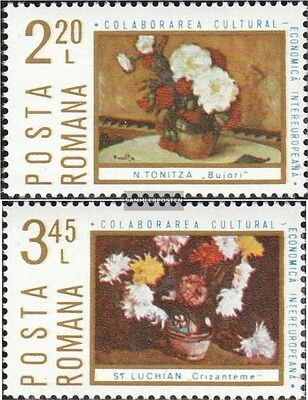 Romania 3258-3259 unmounted mint / never hinged 1975 INTEREUROPA