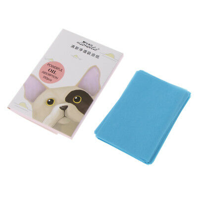 ca. 600 Sheets Oil Blotting Paper Facial Makeup Clean oil-absorbing papers
