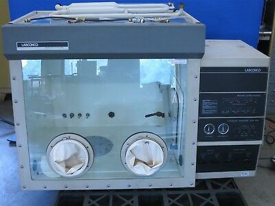Labconco Protector Controlled Atmosphere Glove Box / Chamber with Pass Through