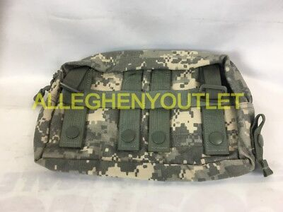 Military MOLLE Large Horizontal Utility Pouch VERY GOOD
