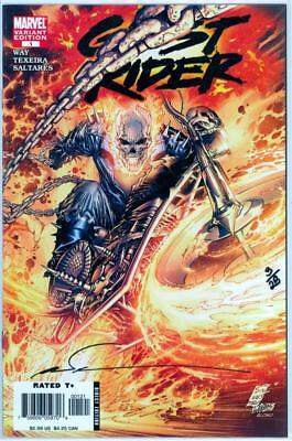 Ghost Rider #1 Df Dynamic Forces Signed Marc Silvestri Coa #3 Marvel Movie