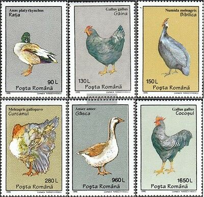 Romania 5111-5116 unmounted mint / never hinged 1995 Poultry