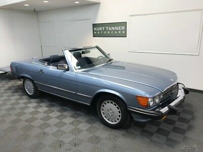 Mercedes-Benz 500-Series 560 SL 1988 MERCEDES BENZ 560 SL. RARE DIAMOND BLUE. 73,485 MILES. RUNS / DRIVES SUPERB