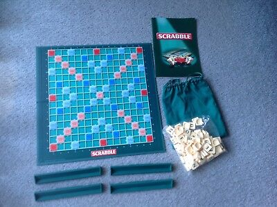 Mattel Original Scrabble - Complete With 100 Tiles - Free Post