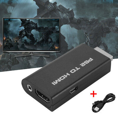 PS2 to HDMI Video Audio Converter Adapter with 3.5mm Audio Output Jack AC1130