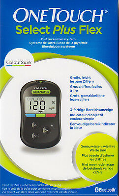 Onetouch Select Plus Flex Medidor de Glucosa en Sangre MG / Dl -