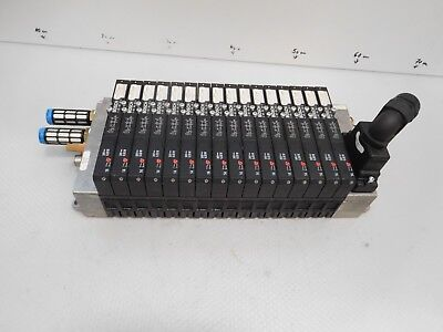 Bosch r480006670 Valve Terminal with 16 x 0820055052,5/2 Directional Control