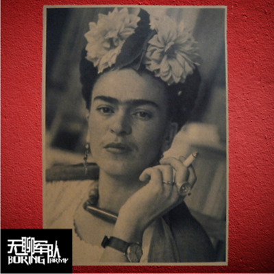 new Frida Kahlo Poster Vintage Paper Decorative Painting art hot