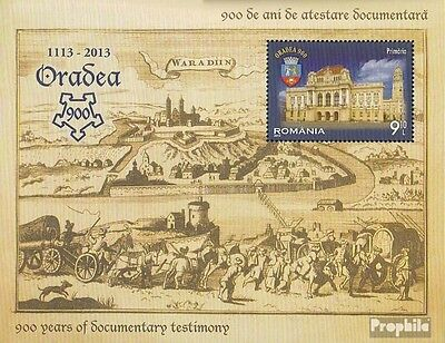 Romania Block567 (complete.issue.) unmounted mint / never hinged 2013 Oradea