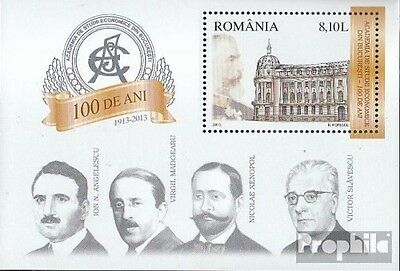 Romania Block556 (complete.issue.) unmounted mint / never hinged 2013 Wirtschaft