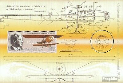 Romania Block481I (complete.issue.) unmounted mint / never hinged 2010 Aircraft