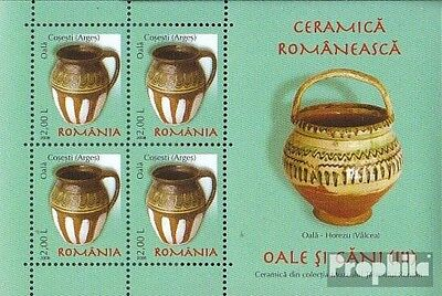 Romania Block419 unmounted mint / never hinged 2008 Romanian ceramics