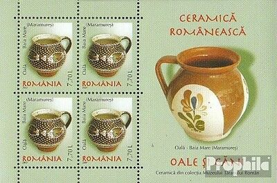 Romania block407 unmounted mint / never hinged 2007 Romanian ceramics