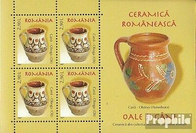 Romania Block406 unmounted mint / never hinged 2007 Romanian ceramics