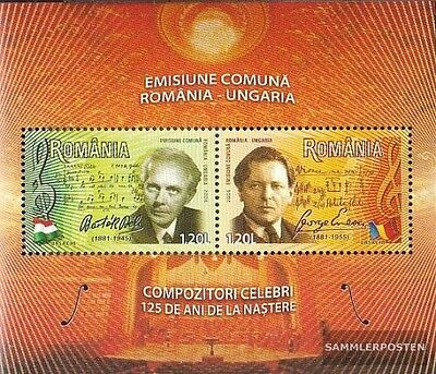 Romania Block380 (complete.issue.) unmounted mint / never hinged 2006 Composers