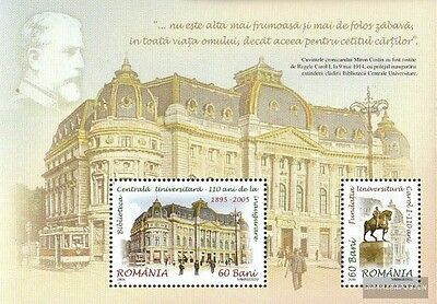 Romania Block365 (complete.issue.) unmounted mint / never hinged 2005 university