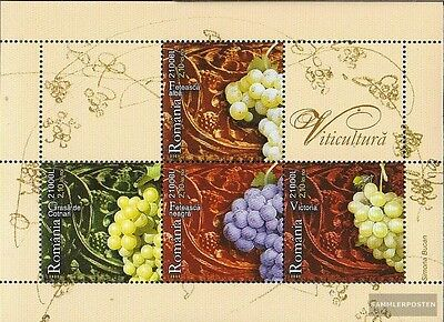 Romania block356 (complete.issue.) unmounted mint / never hinged 2005 Viticultur