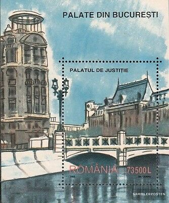 Romania block327 (complete.issue.) unmounted mint / never hinged 2003 Buildings