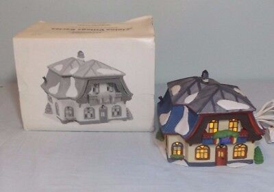Dept 56 Bakery & Chocolate Shop Alpine Village Series Christmas Display #5614-6